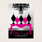 311 Glitzie Candie Pink Table Business Card