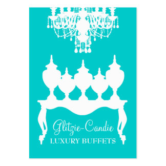 311 Glitzie Candie Turquoise Business Cards