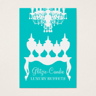 311 Glitzie Candie Turquoise Business Card