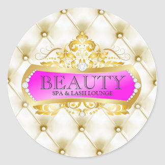 311 Golden Beauty Round Sticker