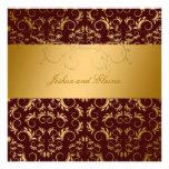 311-Golden diVine Chocolate 5.25 x 5.25 Announcement