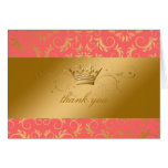 311-Golden diVine Mango Stationery Note Card