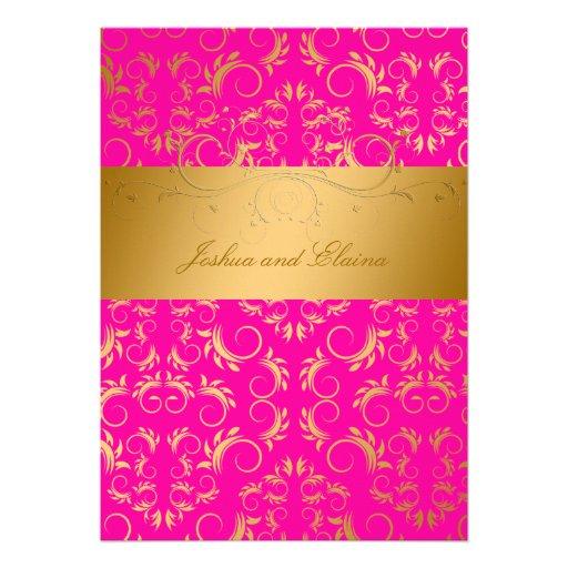 311-Golden diVine | Passion Pink Announcements