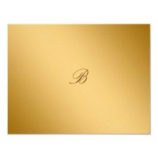 311-Golden diVine Strawberry Brulee RSVP card