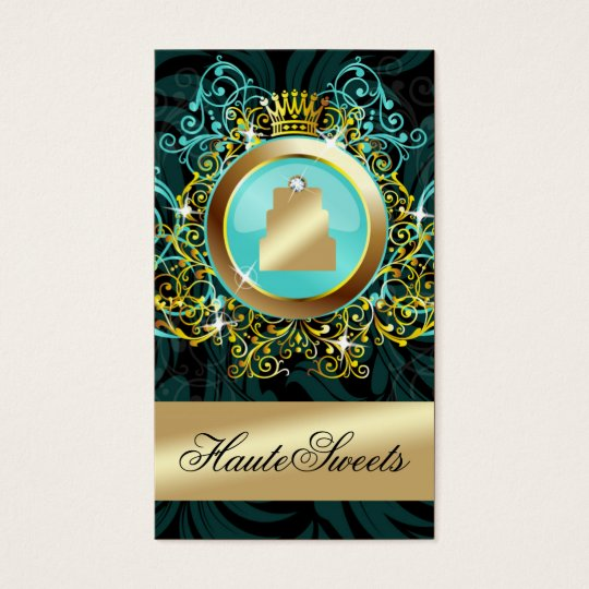 311 Haute Sweets Turquoise Radiance Business Card
