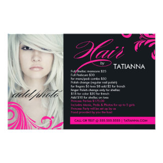 311 Hot Pink Hair By Flyer