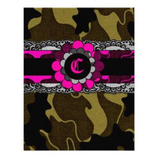 311-Hott Pink Camo Invitation