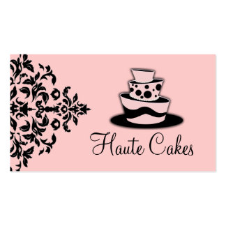 311-Icing on the Cake 3 Tier Double-Sided Standard Business Cards (Pack Of 100)