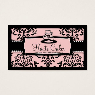 311 Icing on the Cake 3 Tier Pink Business Card