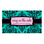 311 Icing on the Cake Aqua Pink Pack Of Standard Business Cards
