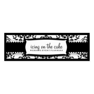 311 Icing on the Cake Black White Tage Pack Of Skinny Business Cards