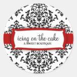 311 Icing on the Cake Cherry Classic Round Sticker