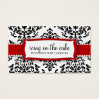 311 Icing on the Cake - Cherry Frosting Business Card