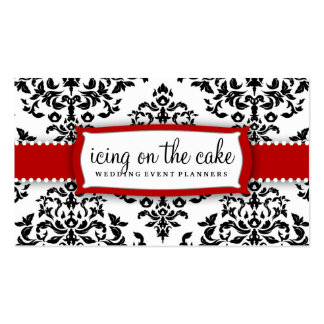 311 Icing on the Cake Cherry Frosting Double-Sided Standard Business Cards (Pack Of 100)