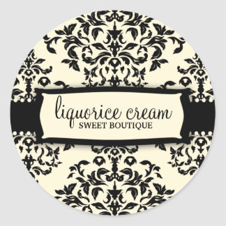 311-Icing on the Cake - Liquorice Cream Classic Round Sticker