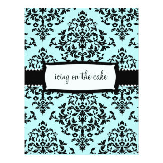 311-Icing on the Cake Something Blue Address Label 21.5 Cm X 28 Cm Flyer