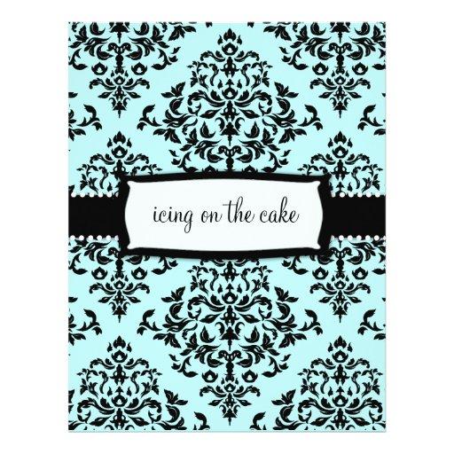 311-Icing on the Cake Something Blue Address Label Custom Flyer