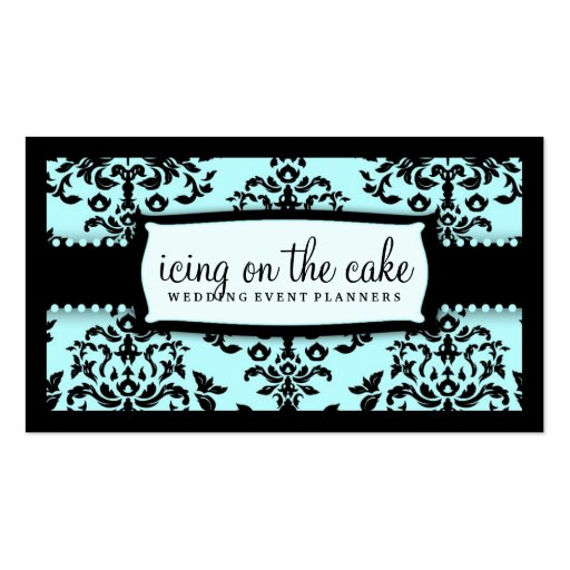 311 Icing on the Cake Something Blue Business Card