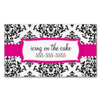 311 Icing on the Cake Strawberry Magnetic Magnetic Business Card