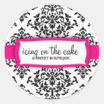 311 Icing on the Cake Strawberry Round Sticker