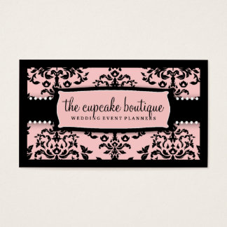 311 Icing on the Cake Sweet Icing Pink Business Card