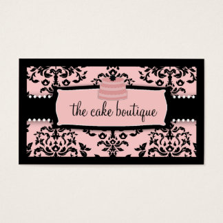 311 Icing on the Cake Tier Sweet Icing Pink Business Card