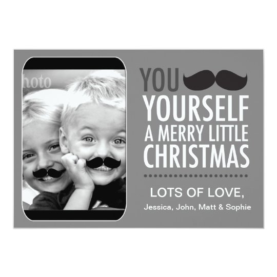 311 Interactive Moustache Holiday Card
