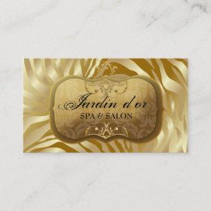 Golden Swirl Business Cards | Zazzle UK
