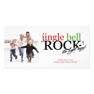 311 Jingle Bell Rock the Night Away Customised Photo Card