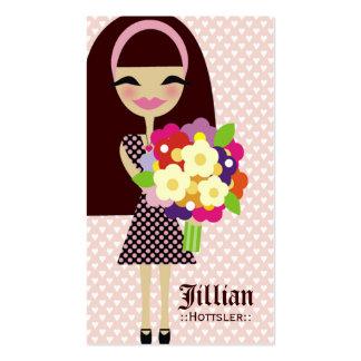 311 KILA FLOWER BUTTERFLY INTERCHANGEABLE HAIR BUSINESS CARD