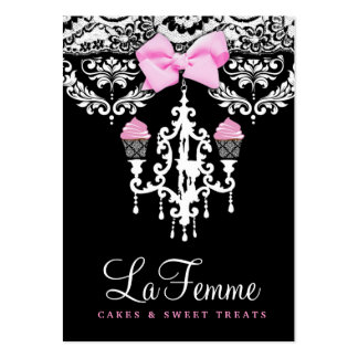311 La Femme Cakes Black Pack Of Chubby Business Cards