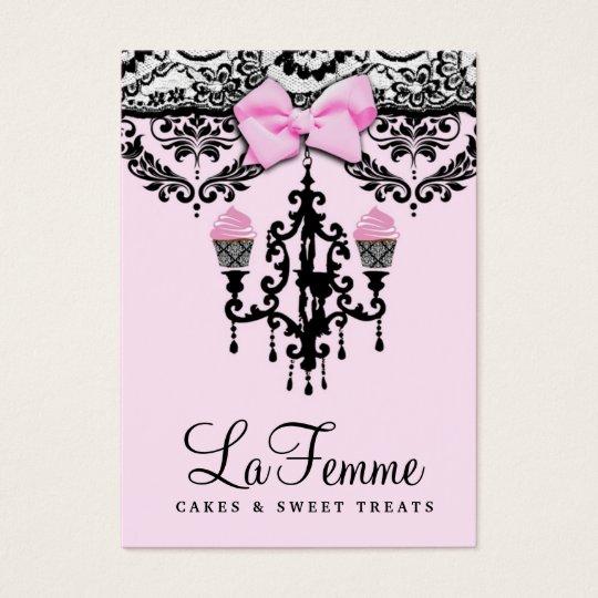 311 La Femme Cakes Pink Deux Business Card