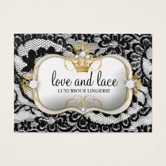 311-Lace de Luxe - Ciao Bella Metallic Business Card