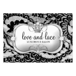 311 Lace de Luxe Ciao Bella Silver Business Card