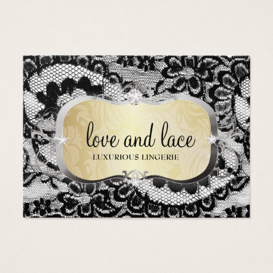 311 Lace de Luxe Gold Business Card
