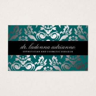 311 Ladonna Damask Deep Teal