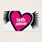 311-Lash Junkie Business Card