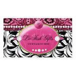 311 Lavish Pink Delish with Fleur de Lis Pack Of Standard Business Cards
