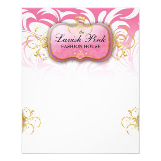 311-Lavish Pink Pink | Full page flyer