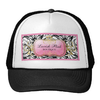 311-Lavish Pink Plate _ Hat