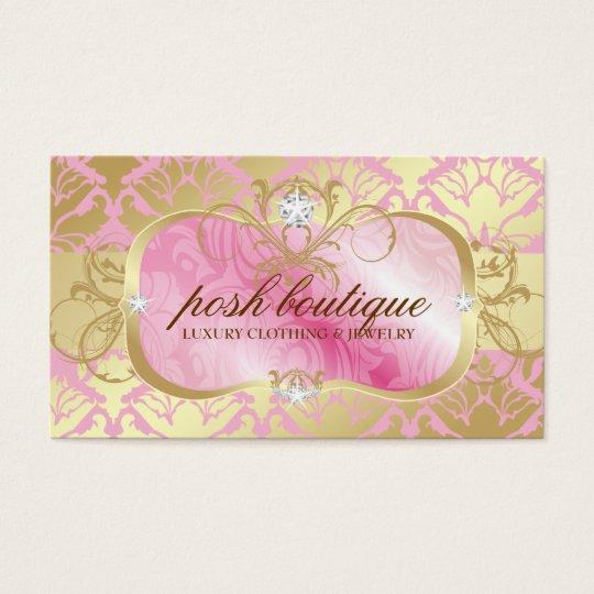 311 Lavish Pink Plater & Golden Damask Shimmer