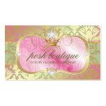 311 Lavish Pink Platter Shimmer Tiara Pack Of Standard Business Cards