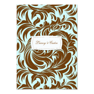 311-Lavishly Lainey Mint Chocolate Invitation