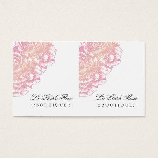 311 Le Plush Fleur Creamy Pink Business Card