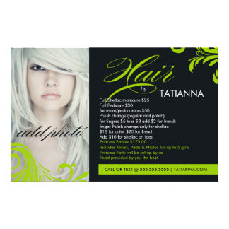 311 Lime Green Hair By Flyer
