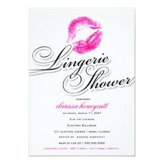 311-Lingerie Shower - Pink Kisses Card