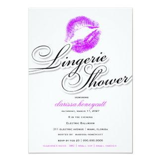311-Lingerie Shower - Purple Kisses Card