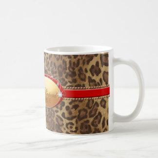 311 Luminous Leopard Red Coffee Mugs