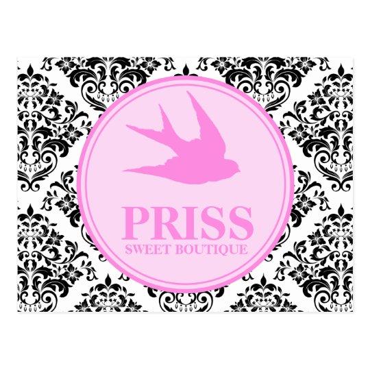 311 Miss Priss Swallows Postcard