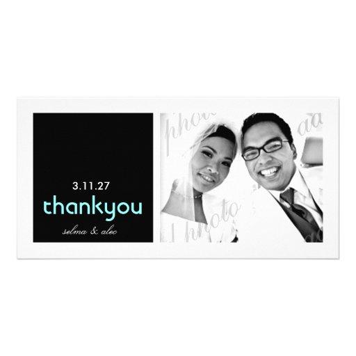 311 Mod Thank You   Photo Card